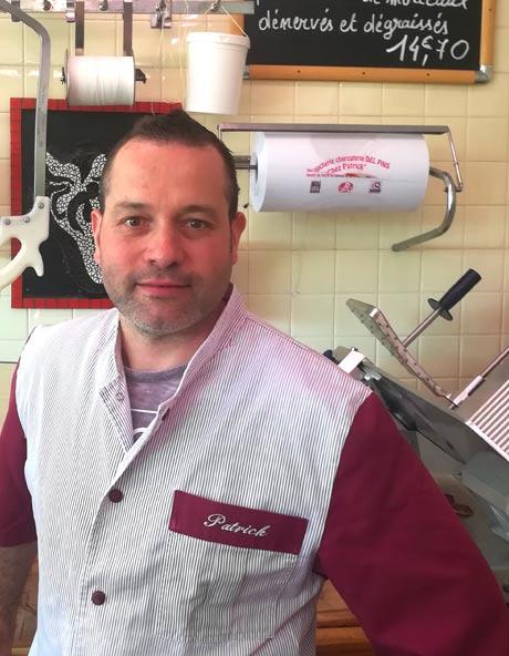 La charcuterie boucherie à l'Union Patrick Pasello