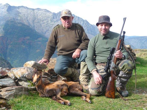 Patrick Pasello chasseur dans les Pyrénées ariégeoises