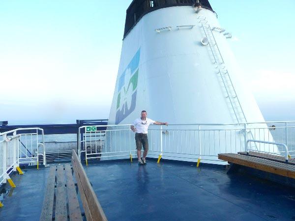 Voyage en bateau pour un séjour de chasse avec Patrick Pasello