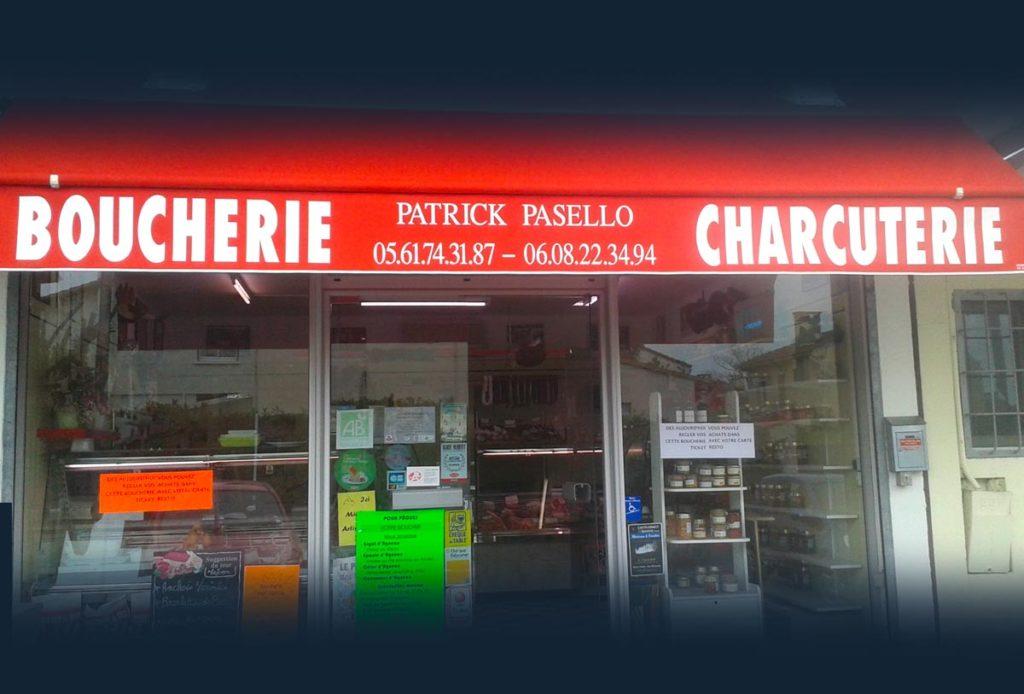 La façade de la bouche de l'Union Patrick Pasello