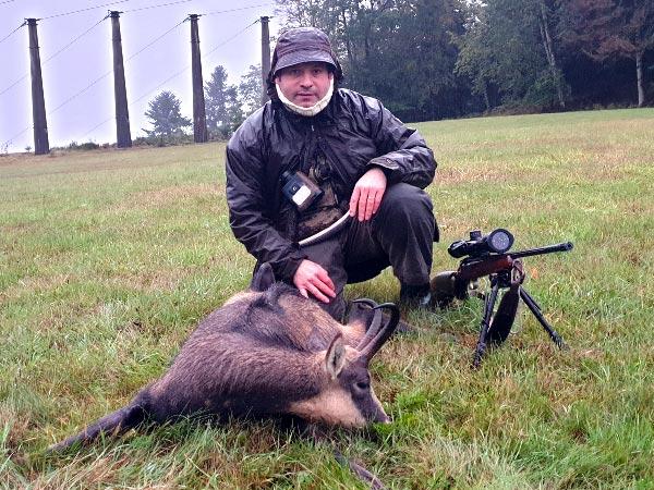 Boucherie l'Union Patrick Pasello et une partie de chasse en octobre 2020